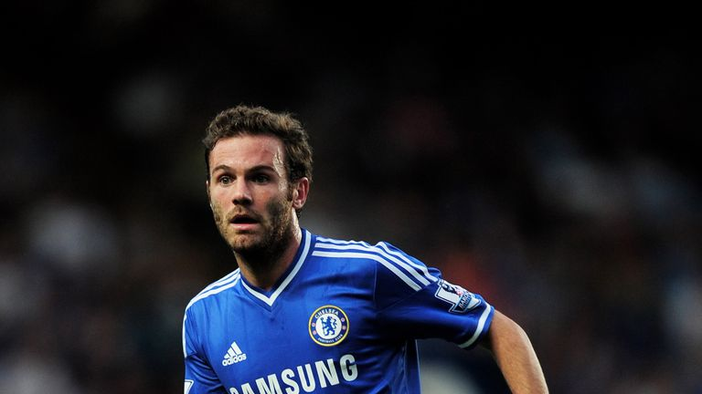 Juan Mata: Chelsea playmaker has been linked with Arsenal