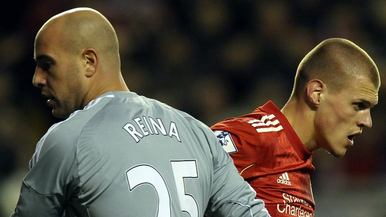 Pepe Reina: A big admirer of Martin Skrtel
