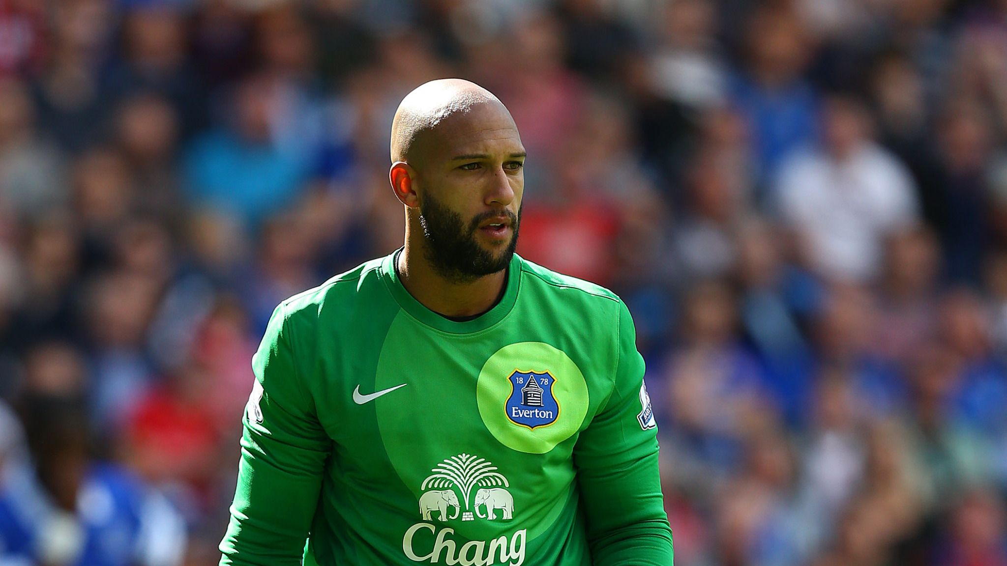 the best attitude 1aa99 941f9 Premier League: Tim Howard says Everton are playing without ...