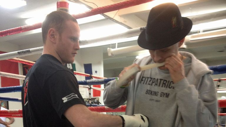 George Groves (L) has joined forces with Paddy Fitzpatrick