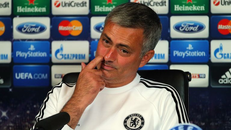 Jose Mourinho: Brought press conference to an abrupt conclusion