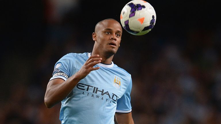 Vincent Kompany: Ready to return for City