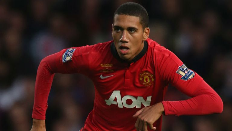 Chris Smalling: Helped Manchester United to a share of the spoils at White Hart Lane