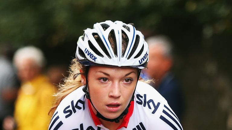Lucy Garner: Played her part as England earned a 1-2 in the women's road race