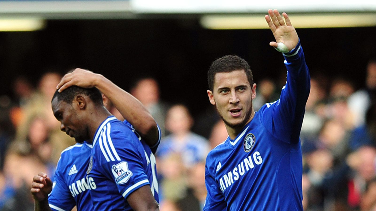 Eden Hazard says Vincent Kompany's fitness key to Chelsea ...