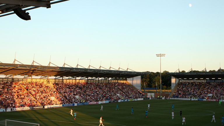 Weston Homes Community Stadium: Home to Colchester