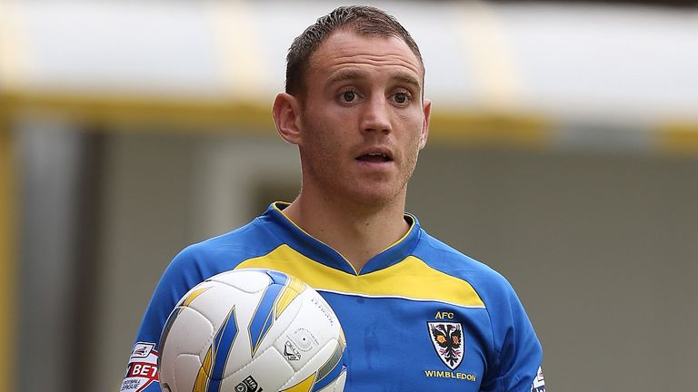 Barry Fuller: Ruled out for AFC Wimbledon