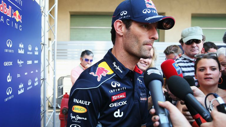 Mark Webber: Happy with his own level of performance in 2013