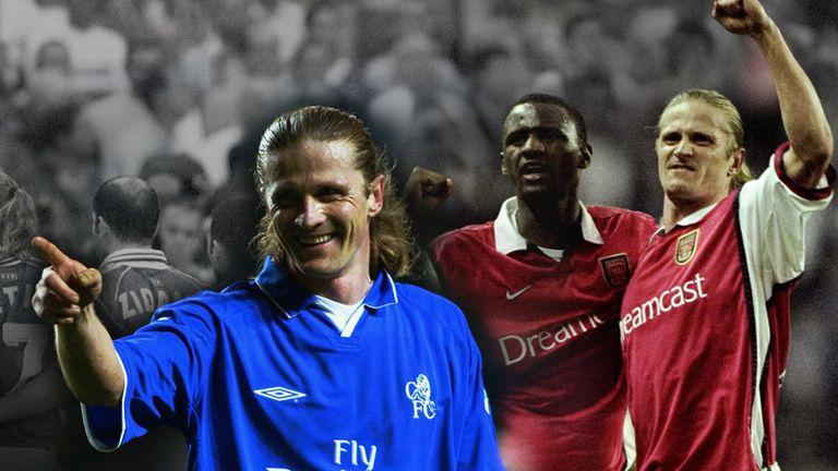 Kết quả hình ảnh cho Petit arsenal và Chelsea