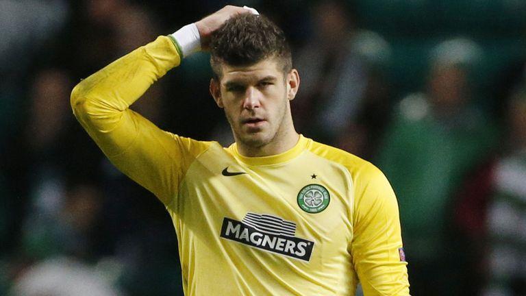 Forster in action for Celtic