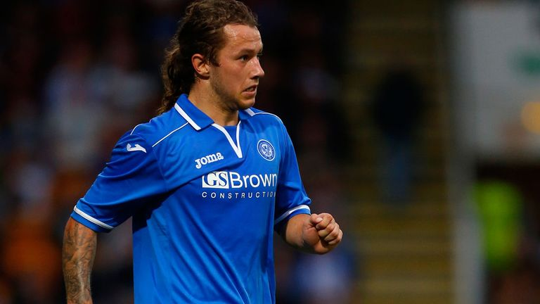Stevie May: St Johnstone striker has signed contract extension