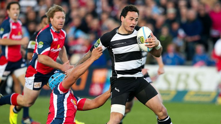 Zzc Guildford: New Zealand winger to play in Top 14