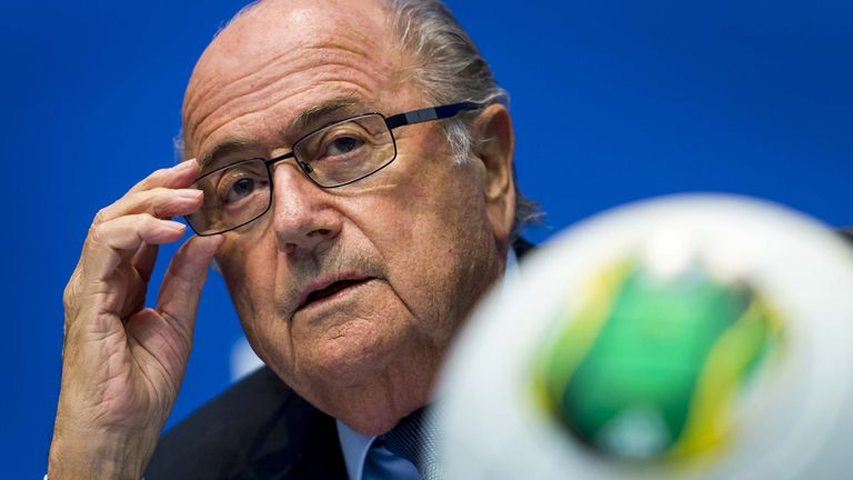Sepp Blatter: In trouble over Ronaldo comments