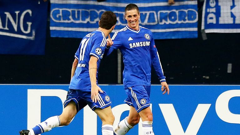 Fernando Torres scores twice to give Chelsea a 3-0 win over Schalke