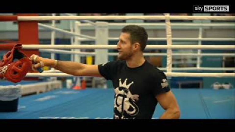 Froch sparred with Smith as he was turning professional