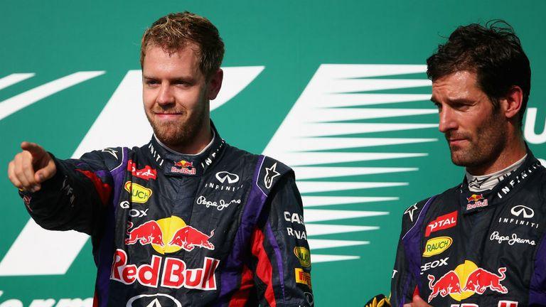 Sebastian Vettel: Says Webber has always challenged him
