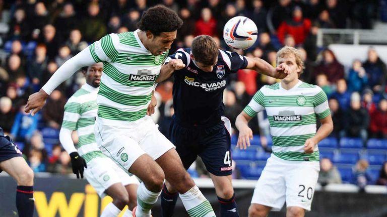 Virgil van Dijk: Scores his second goal as Celtic beat Ross County 4-1