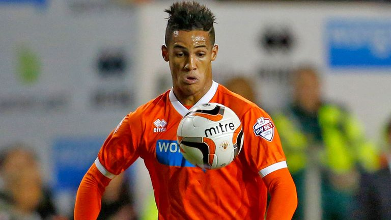 Tom Ince: Set for a loan switch to Swansea City