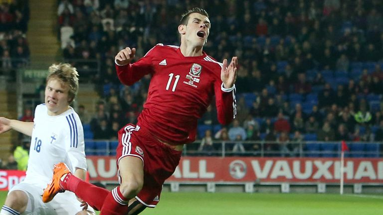 Gareth Bale: Showed glimpses of his class in Wales' 1-1 draw with Finland