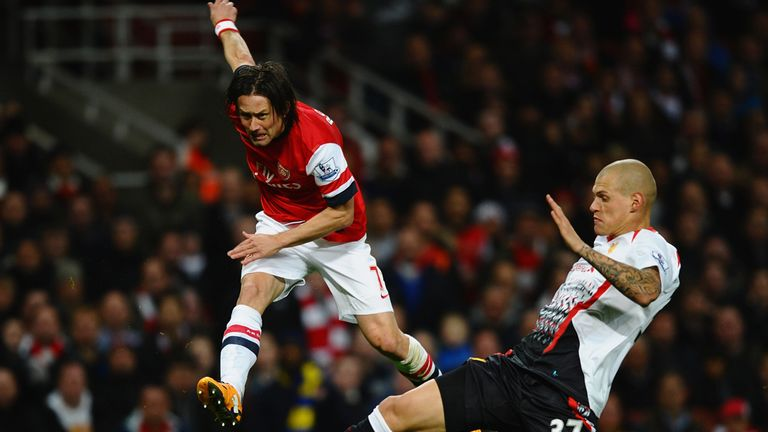 Arsenal can strengthen their position at the top with a victory at Liverpool