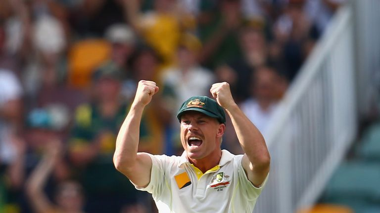 David Warner: Admitted he had overstepped the mark