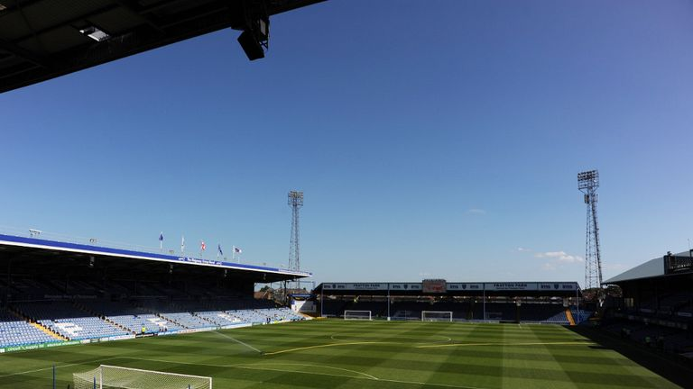 Fratton Park: Portsmouth currently in League Two relegation scrap