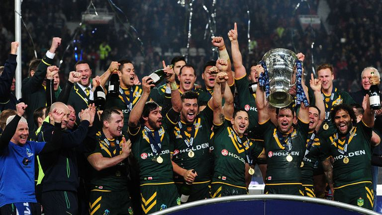 Australia and New Zealand will host 2017 RL World Cup