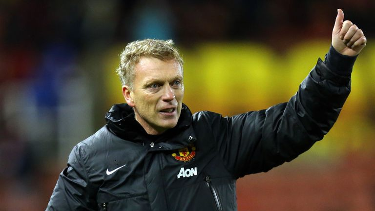 David Moyes: Ruled out a move for a new striker