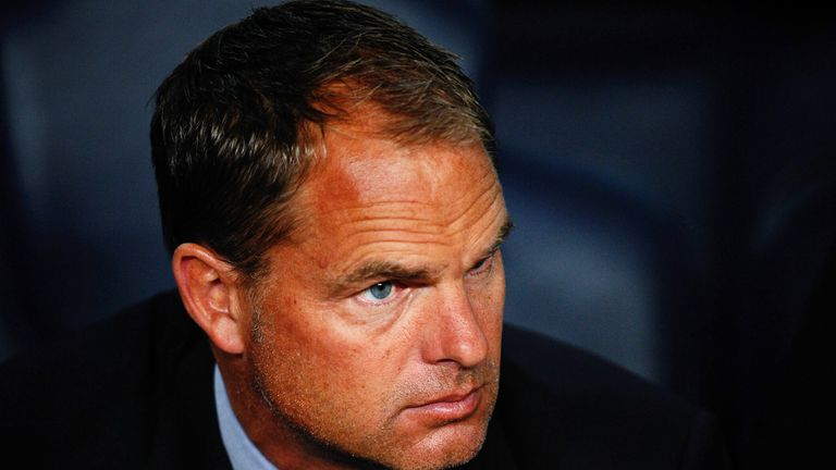 Frank de Boer: Linked with Tottenham job