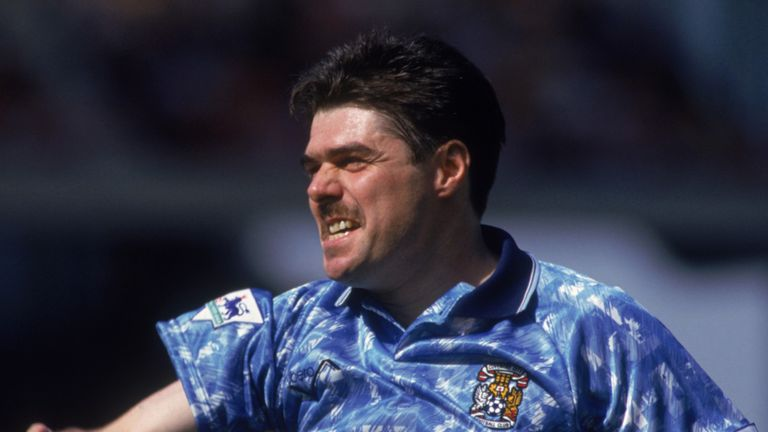 Micky Quinn scored in his first six games for Coventry in 1992