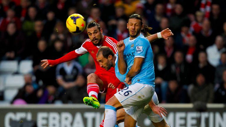 Dani Osvaldo: Scored a stunning goal as Southampton pegged back Manchester City