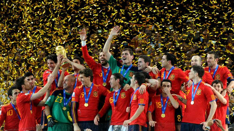Will Spain retain the World Cup trophy?