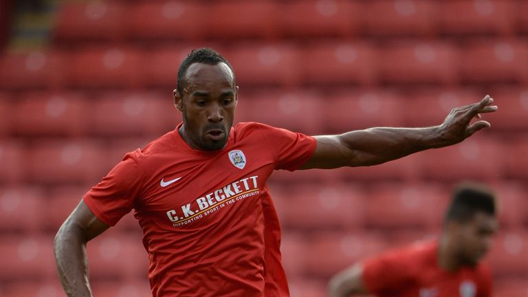 Chris O'Grady: Hit two goals for Barnsley