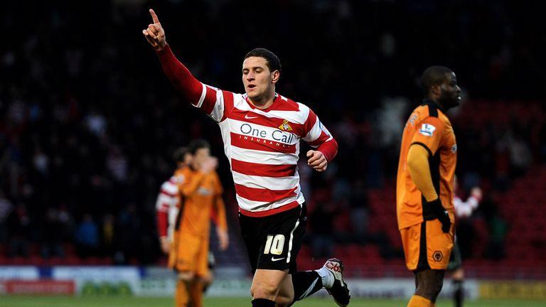 Billy Sharp: Scored Doncaster's opener against Huddersfield