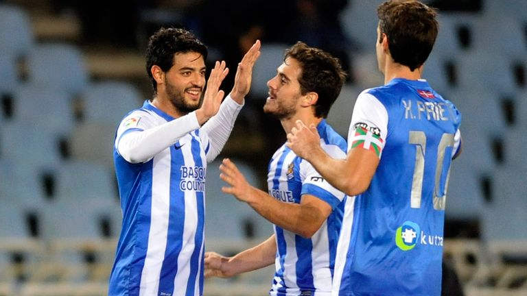 Carlos Vela: Scored a late winner for Sociedad