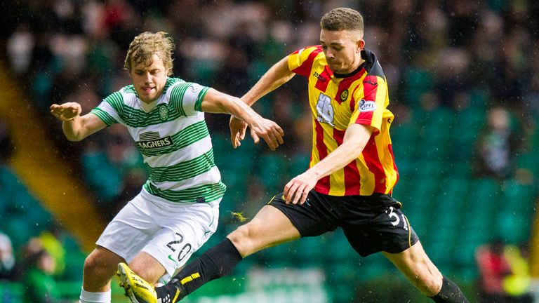 Pukki struggled to make much of an impact in Scotland with Celtic