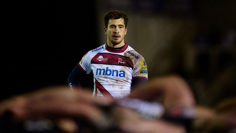 Cipriani had a four-year spell at Sale Sharks