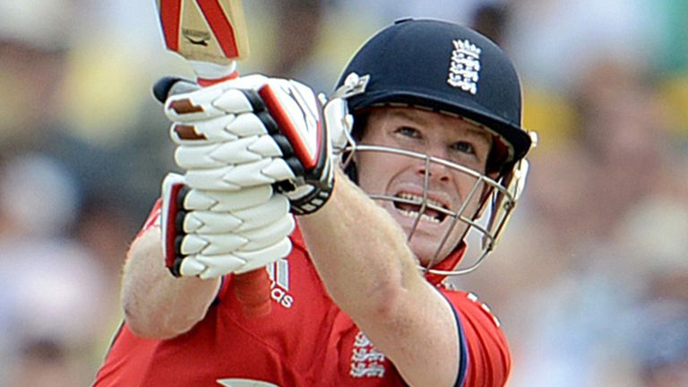 Eoin Morgan: Former England bowler Dominic Cork feels he can replace Kevin Pietersen in the national side