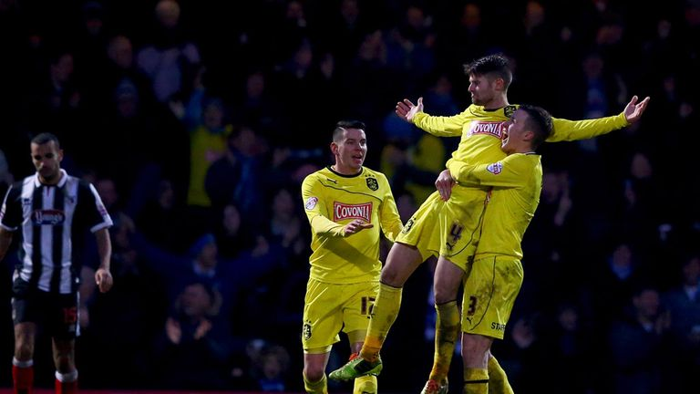 Oliver Norwood levelled for the first time for Huddersfield