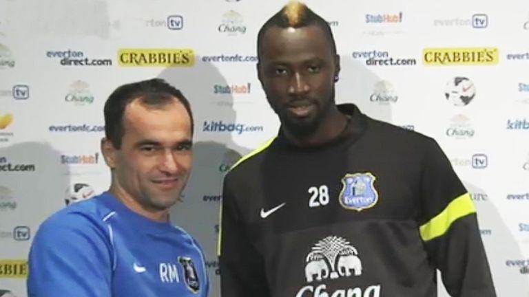 Roberto Martinez: Everton boss ready to call on striker Lacina Traore