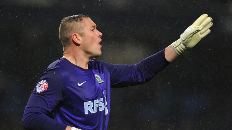 Paul Robinson: Frustrated at Blackburn