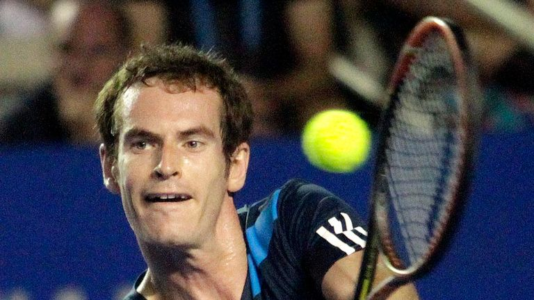 Andy Murray: Into quarter-finals in Acapulco