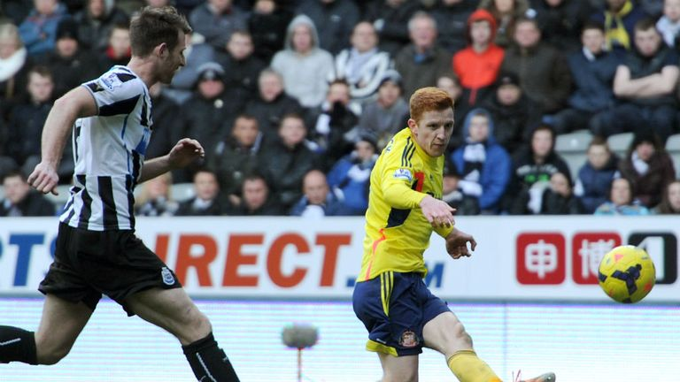 Jack Colback: On target at Newcastle earlier this season
