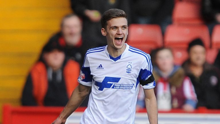 Jamie Paterson: Rescued a point for Forest