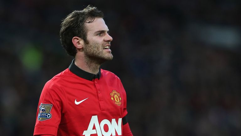 Juan Mata: Joined United from Chelsea in January