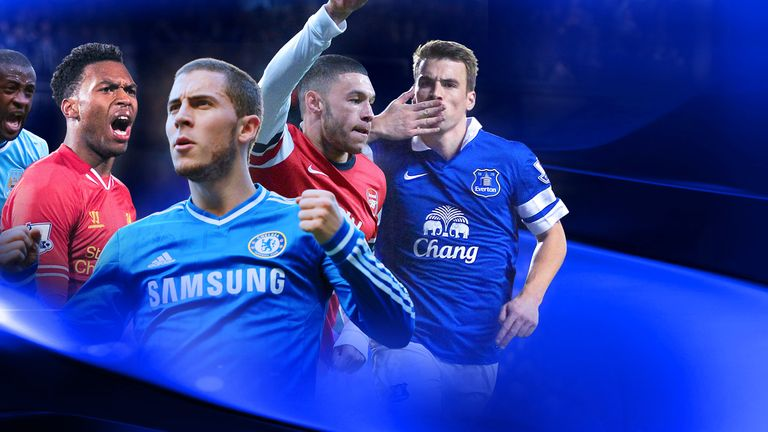 Sky Sports will show 17 live Premier League games in April