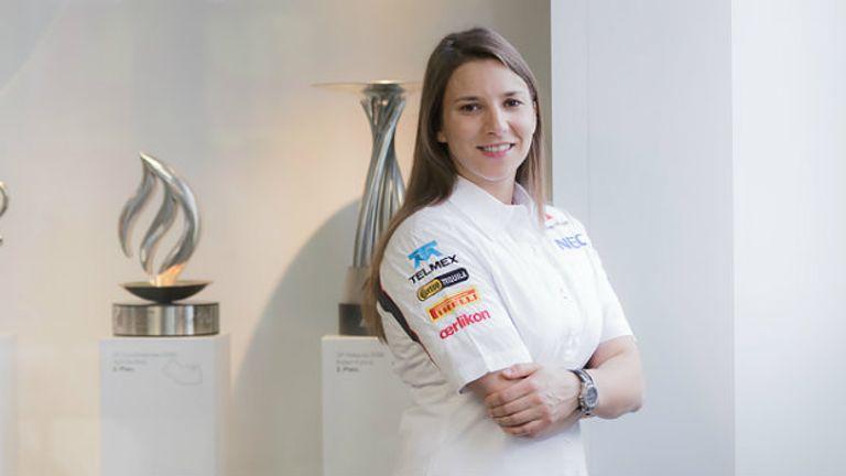 Simona de Silvestro: Will get track testing time with Sauber (Sauber image)