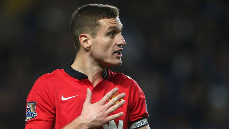 Nemanja Vidic: Manchester United captain is on his way out of Old Trafford