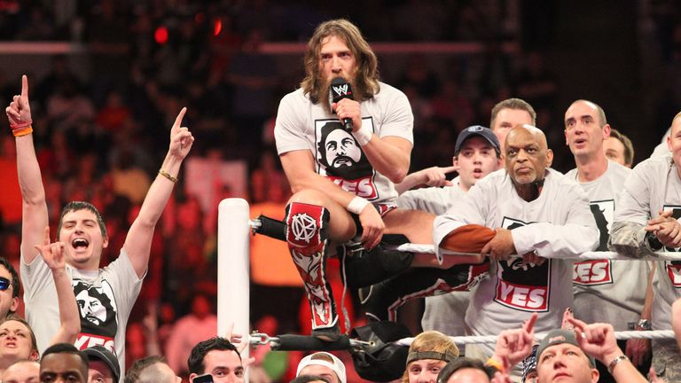 Bryan's enormous popularity with the WWE fans remains intact two years after his retirement