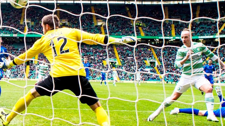 Leigh Griffiths: Gives Celtic the lead against Inverness Caley